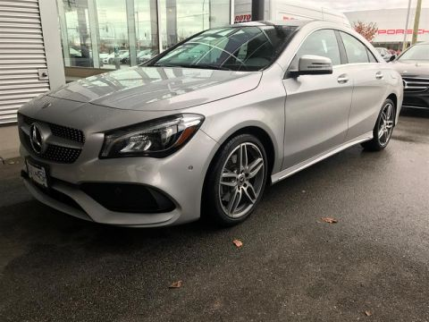 New 2018 Mercedes-Benz CLA CLA