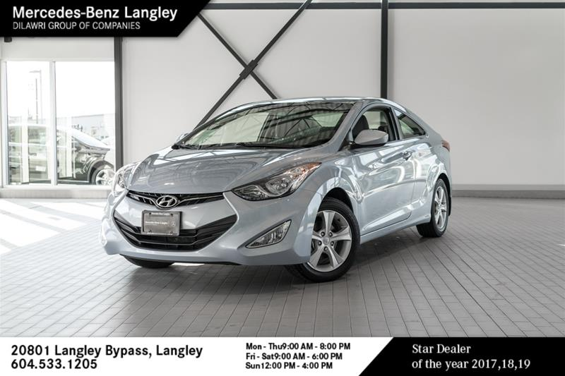 Pre-Owned 2013 Hyundai Elantra Coupe GLS at