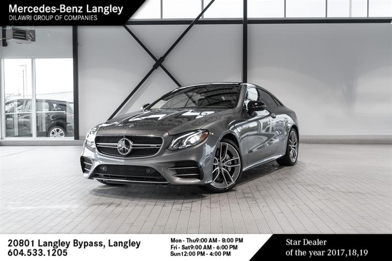 New 2019 Mercedes-Benz E53 AMG 4MATIC+ Coupe