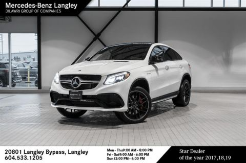 Pre-Owned 2019 Mercedes-Benz GLE63 AMG S 4M Coupe