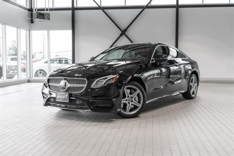 Certified Pre-Owned 2018 Mercedes-Benz E400 4MATIC Coupe