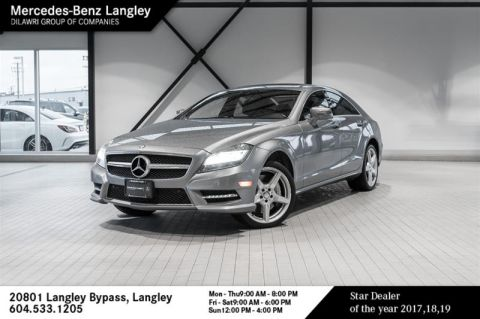 Pre-Owned 2014 Mercedes-Benz CLS550 4MATIC Coupe
