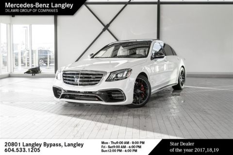 Pre-Owned 2019 Mercedes-Benz S63 AMG 4MATIC+ Sedan